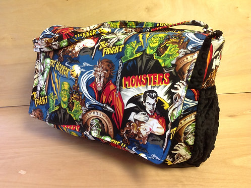 Diaper Bag- Monsters