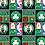 Thumbnail: Diaper Bag- Celtics Black ,Diaper bag,Diaper bag Celtics.