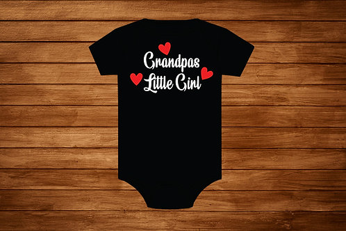 Baby Onesie. Grandpas Little Girl. Custom Onesie