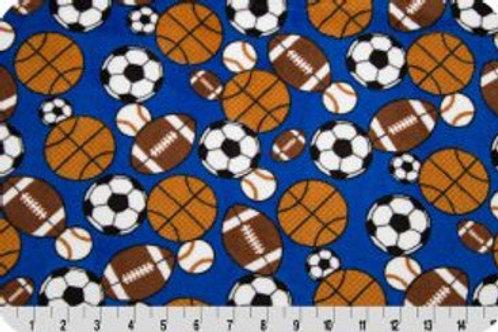 Sports. Sports Minky Fabric