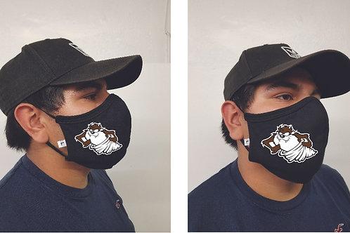 Black Mask (Tasmanian Devil) Face Mask