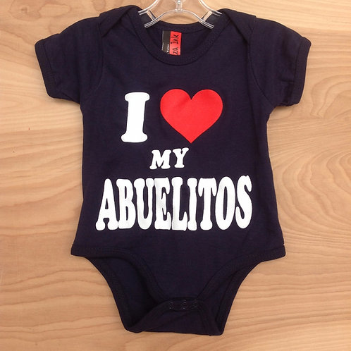 I Love My Abuelitos/ Navy Blue