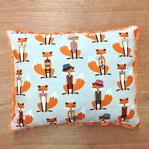 Travel Memory foam PillowFoxes/ Orange