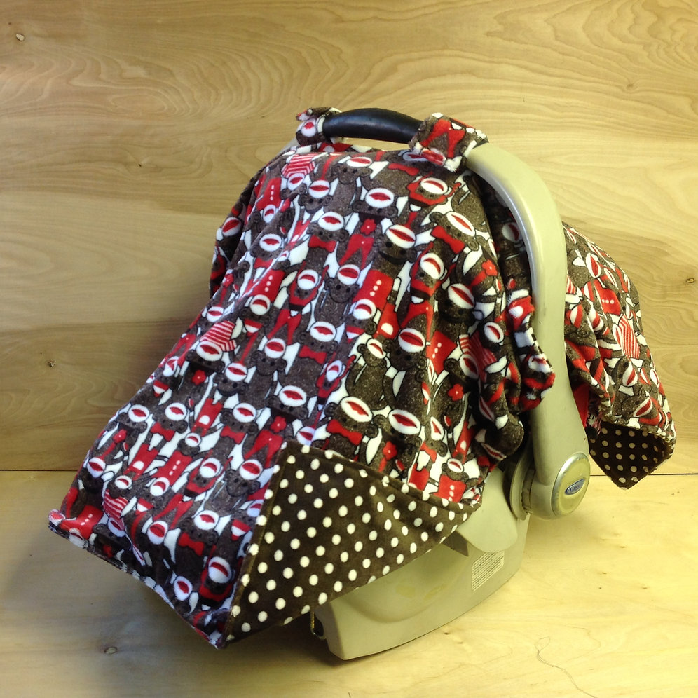 Strange Sock Monkey Brown Swiss Dot Cl Ibusinesslaw Wood Chair Design Ideas Ibusinesslaworg