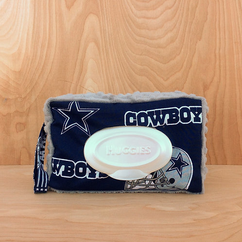 Wipe Case Covers- Cowboys/ Silver