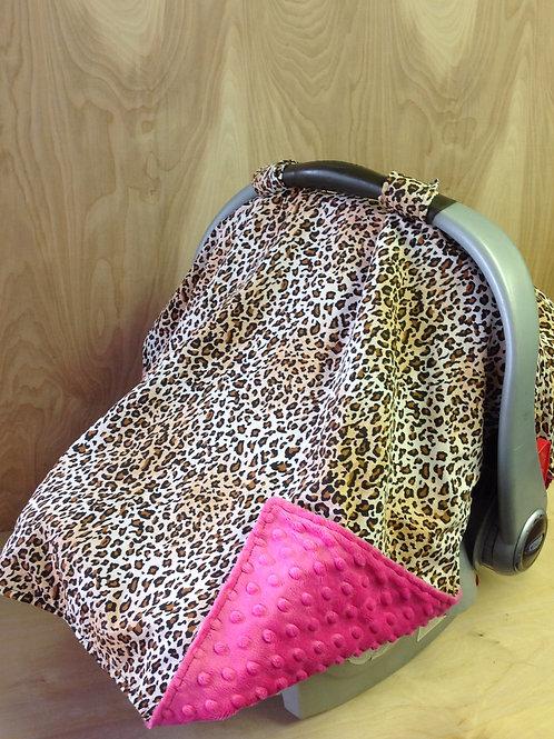 Leopard Cotton/ Hot Pink/ CL