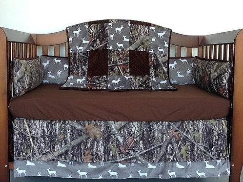 Crib Set True Timber,Crib Boy Bedding,Home &Living,Nursery Bedding.