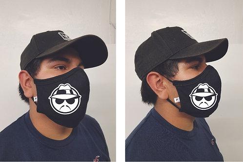 Black Mask (Lowrider) Face Mask