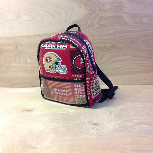 Kid's Mini Backpack- 49ers/ Black