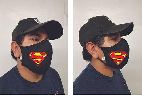 Black Mask (Superman) Face Mask