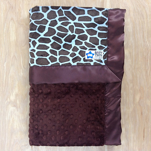 Blue Giraffe/ Brown