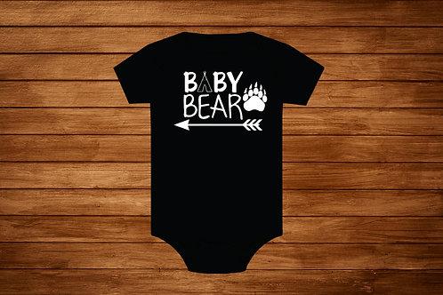 Baby Onesie. Baby Bear. Custom Onesie