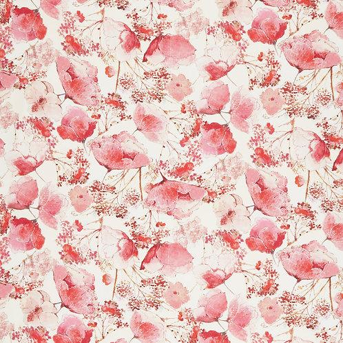 Coral Floral Bloom. Flower Bloom