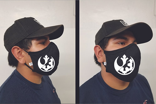 Black Mask (Rebels and the Empire) Face Mask