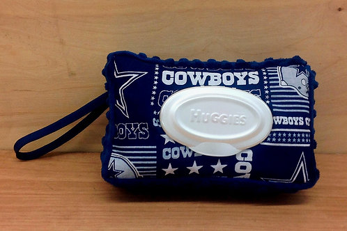 Wipe Case Covers- Cowboys #2/ Navy