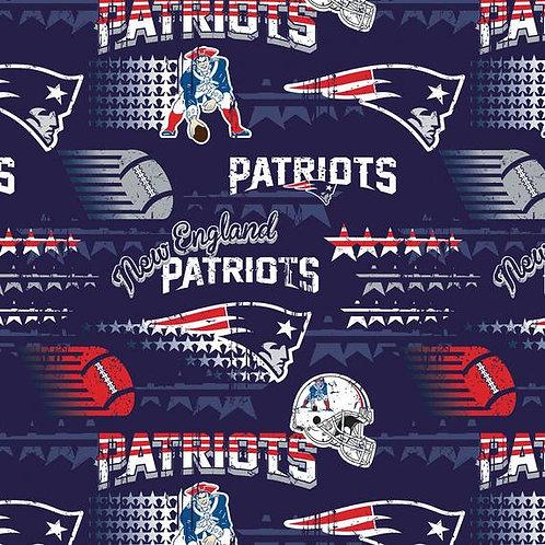 New England Patriots Patched. Patriots