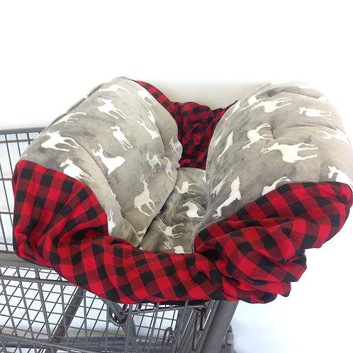 Shopping Cart Cover- Lumberjack