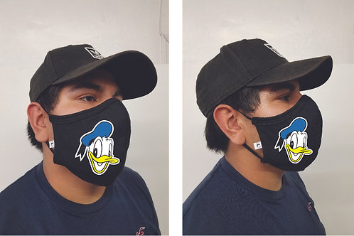 Black Mask (Donald Duck) Face Mask
