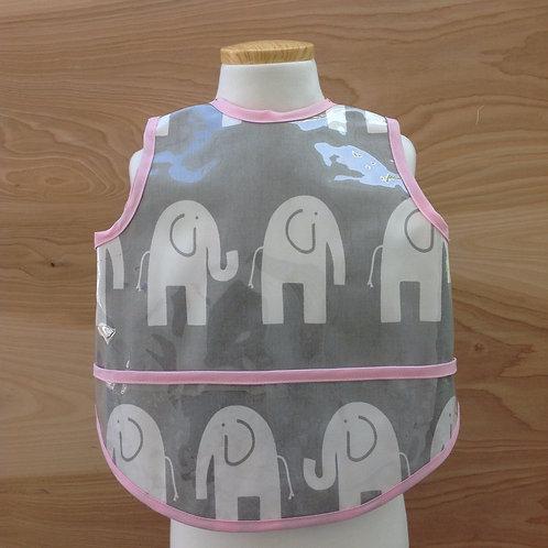 Grey Elephant/ Pink