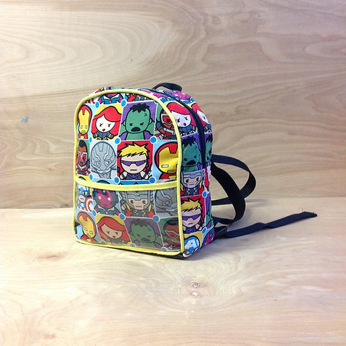 Kid's Mini Backpack-Marvel Kawaii/ Yellow