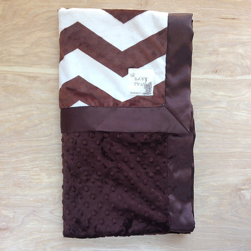 Brown Chevron/ Brown
