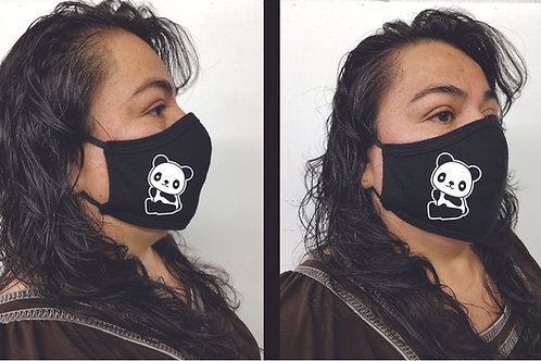 Black Mask (Panda) Face Mask