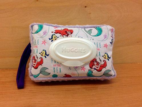 Wipe Case Covers- Little Mermaid/ Lavender