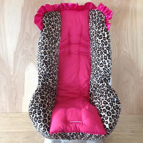 Tan Jaguar and Hot Pink