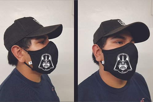 Black Mask (Darth Vader) Face Mask