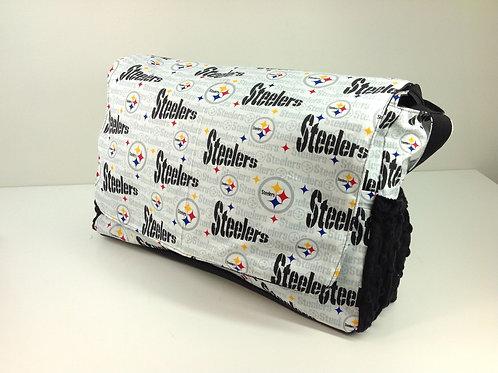 Diaper Bag- White Pittsburgh Steelers