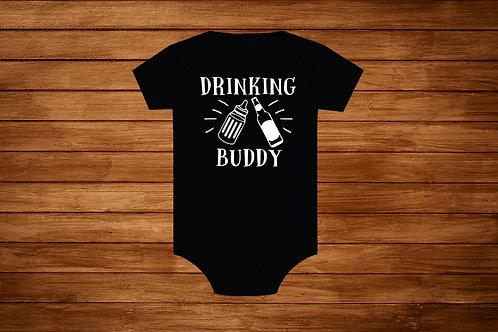 Baby Onesie. Drinking Buddy. Custom Onesie