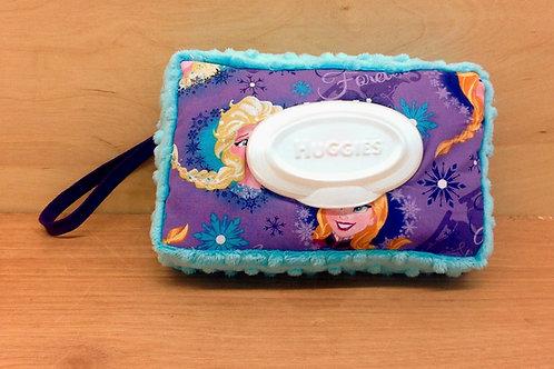 Wipe Case Cover- Frozen/ Blue