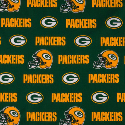 Greenbay Packers. Packers. Packers Cotton Fabric