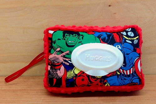 Wipe Case Cover- Marvel/ Red