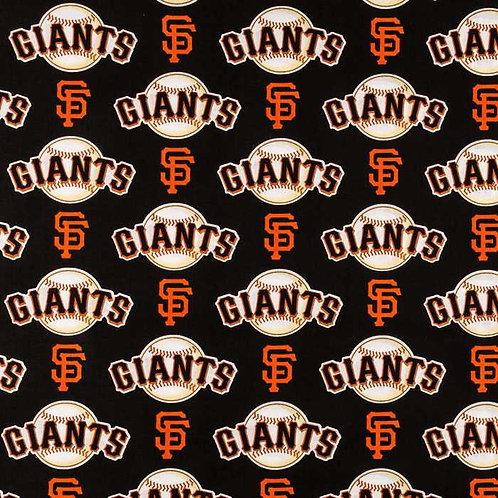 MLB San Francisco Giants Baseball Print 100% Cotton Fabric