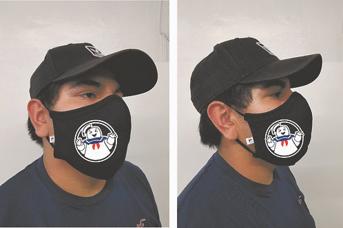 Black Mask (Stay Puft) Face Mask