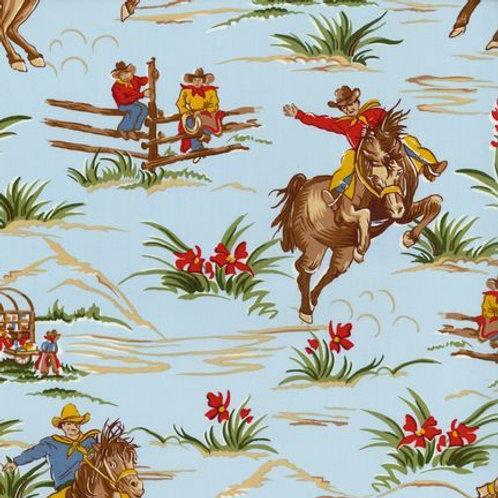 Cowboys and Horses. Cowboys
