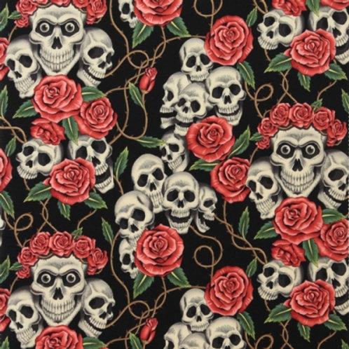 Tea Skulls and Roses. Skulls and Roses
