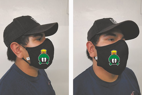 Black Mask (Marvin the Martian) Face Mask