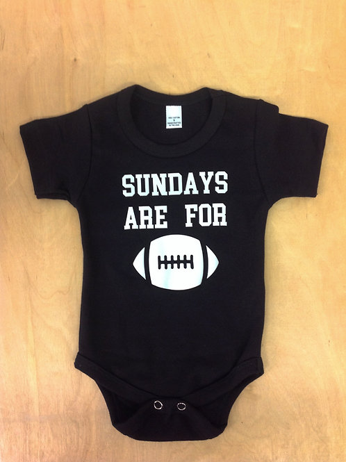 Baby Onesie- Sundays are for Football,Boy Onesie,Bodysuit,