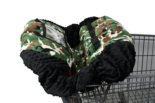 army camo shopping cart covers