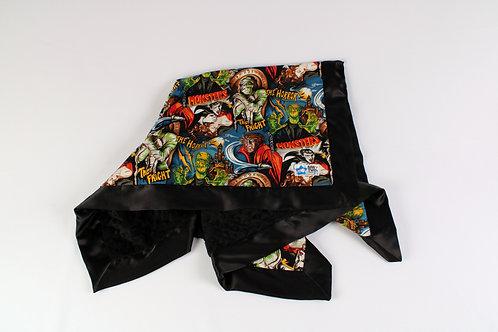 30x36 Baby Blanket. Nursery Blanket. Receiving Blanket. Movie Monsters Blanket