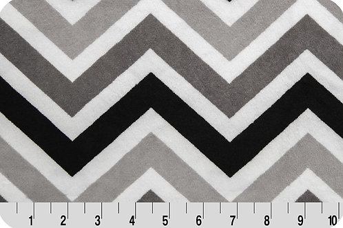 Chevron Black/ Grey