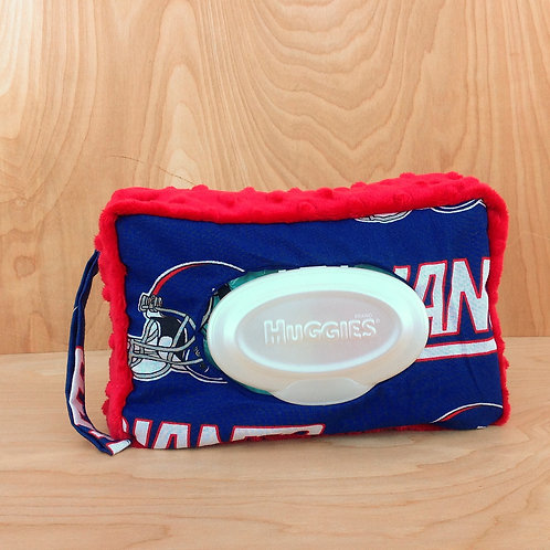 Wipe Case Covers- NY Giants/ Red