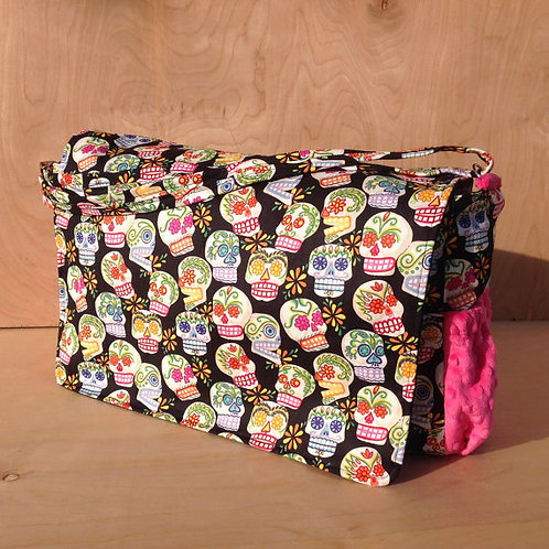 Diaper Bag- Sugar skulls