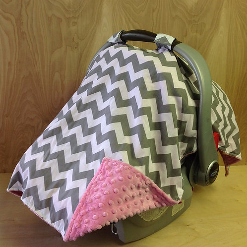 Pink/ Grey Chevron/ Bubblegum Pink/ CL