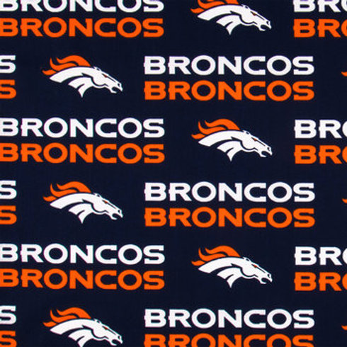 Denver Broncos. Broncos. Broncos Cotton