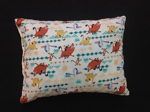 Travel Memory foam Pillow- Lion King/ Biege