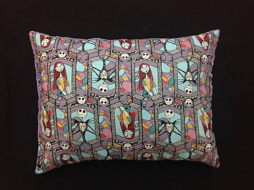 Travel Memory foam Pillow- Jack and Sally