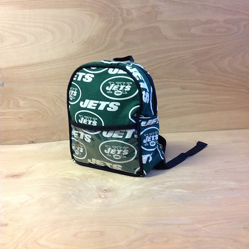 Kid's Mini Backpack- Jets/ Black